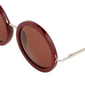 4f996a4b505 Linda Farrow Accessories - Linda Farrow The Row Round Sunglasses